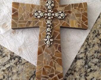 """Natural Mosaic Cross -12"""""""