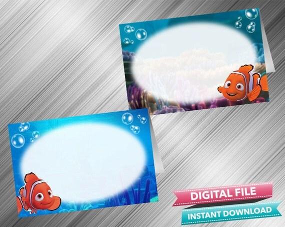 & Finding Nemo Food Tent INSTANT DOWNLOAD