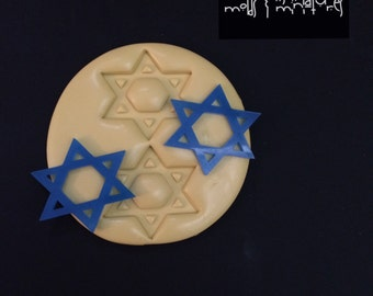 Star of David Silicone Mold