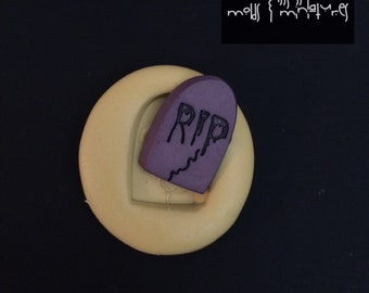 R.I.P Tombstone Silicone Mold