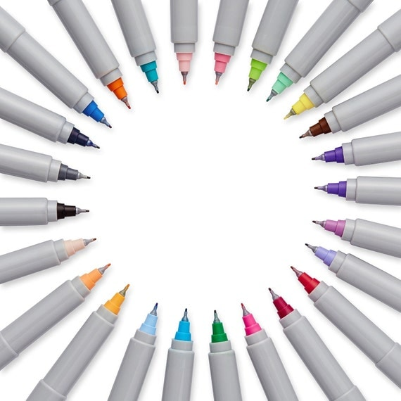 Color Sharpie Markers; Precision Ultra-Fine-Point Permanent ...