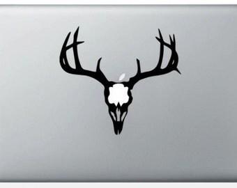 Sticker Deer Skull deer for Macbook decals for MacBook Pro/Air