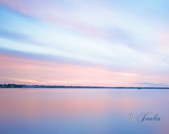 Conimicut Point ~ Conimicut Point, Rhode Island, Warwick, Beach, Sunset, Art, Artwork, Photograph, New England, Nautical, Coastal, Pink