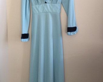 "Vintage 1970's ""loretta lynn"" style dress"