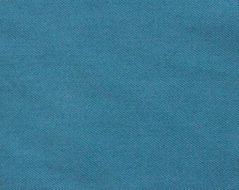 SALE!!! Cotton twill fabric, twill fabric, turquoise twill, dusty turquoise twill, pants fabric, shorts fabric, fabric yardage