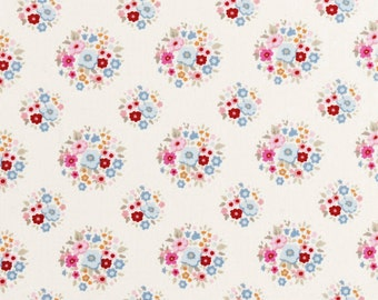 NEW - TILDA  'Sweetheart ' Thula Red Pink Floral 100% Cotton Fabric Fat Quarter