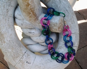 multi color bracelet