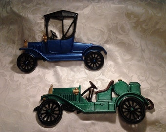Early Automobile Wall Hangings