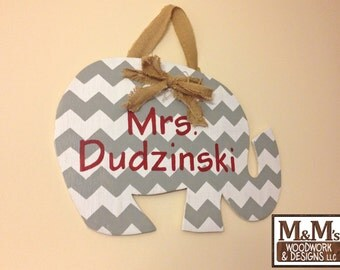 Teacher Classroom Name Sign Door Hanger