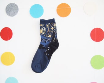 MoMa Van Gogh- The Starry Night Socks