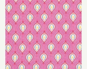 SALE, 1 Yard, Dena Design, Little Azalea, Peony in Pink