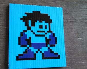 Mega Man 8-bit Decal (without helmet)