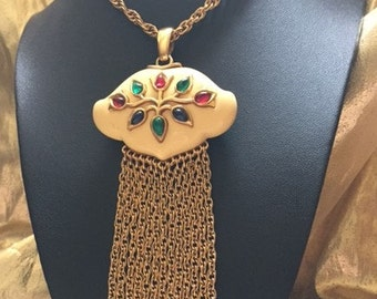 Rare Diane Love for Trifari Pendant