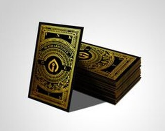1500 Metallic Finish Business Cards