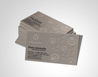 1000 Cotton Business Cards Elite Collection