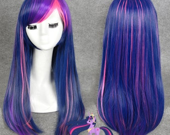 Inspired Twilight Sparkle Wig
