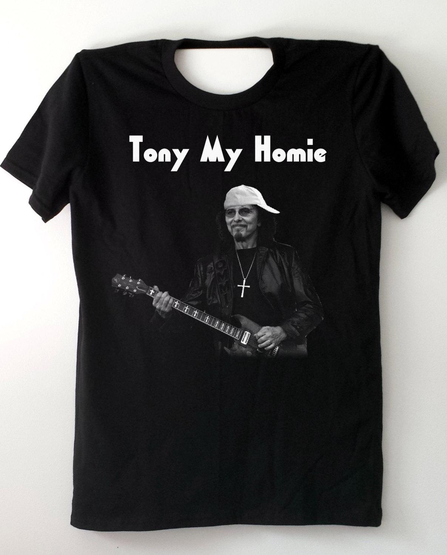 Black sabbath t shirt xxl - Tony Iommi Shirt Tony My Homie Guitar Player Black Sabbath Fan Shirt