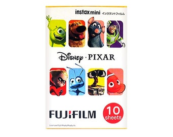 Fujifilm Instax Mini Film Disney Pixar Characters Polaroid Instant Photo
