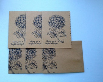 Praying for you notecard set of 3, Thoughts and Prayers notecard set,  Christian notecard set, Christian blank card