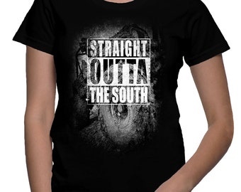 NWA JEEP tribute shirt - Straight outta the South