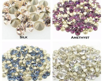 20pcs Swarovski PP14 Multi Colors 2.1mm Round Xilion Crystal 1088 chaton