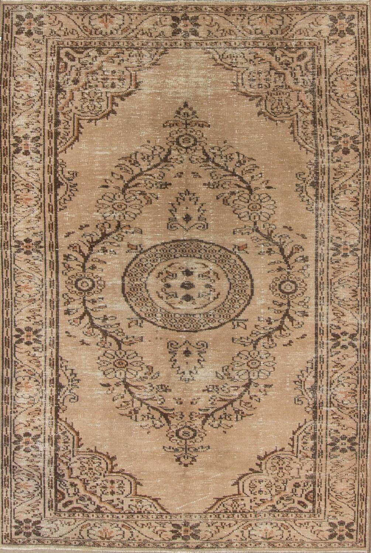 9 6 ft 9 5 8 277 177 cm vintage brown braun overdyed handmade unique rug free shipping cs457. Black Bedroom Furniture Sets. Home Design Ideas