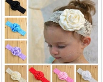 Vintage inspired baby/toddler headband.
