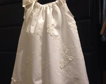 Ivory Pillowcase Dress 18-24 Months