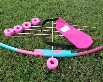 Pvc toy kids bow etsy for Kids pvc bow