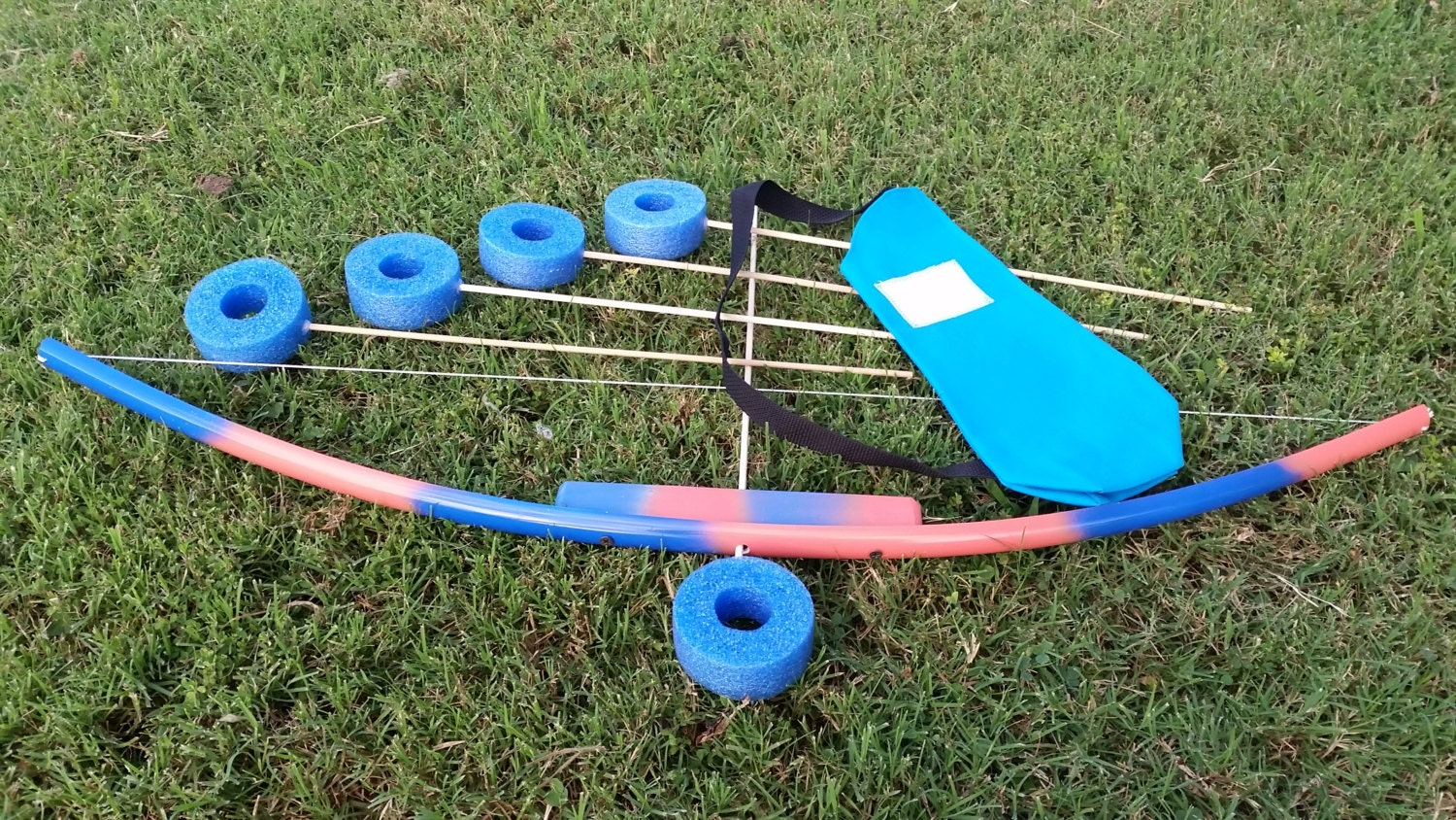 Coral royal blue bow and arrow set kids toy bow set pvc and for Kids pvc bow