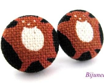 Possum earrings - Possum stud earrings - Possum posts - Possum studs - Animal jewelry - Possum post earrings sf959