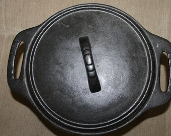 Dutch Oven, Tools of The Trade, Basics, 3 Quart Iron Pot, Cooking Beans, Baking, Survival Tool, Great  Collectible, or Use When Camping NICE