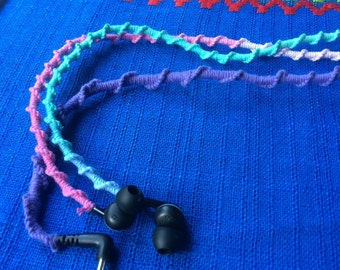 Macrame earphones