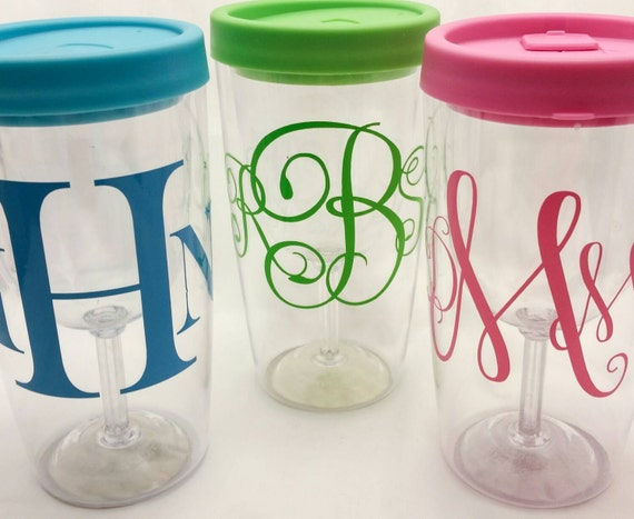 Personalized wine tumbler no spill wine mug custom wine2go Wine glasses to go
