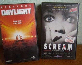 Daylight and Scream (VHS) 1996, French-language