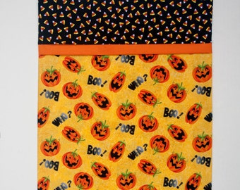 Halloween Jack-O-Lantern Toddler Travel Pillowcase