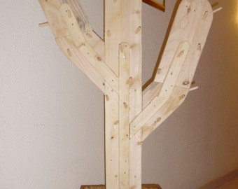 "Decorative coat rack ""Cactus"""