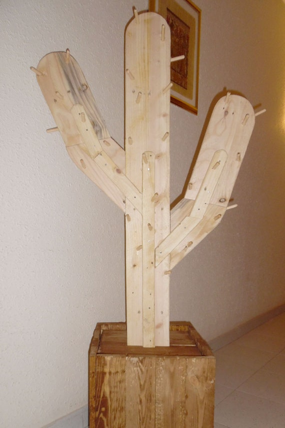 Decorative Coat Rack Cactus