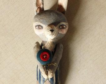 Boy Rabbit Stuffed Animal Doll