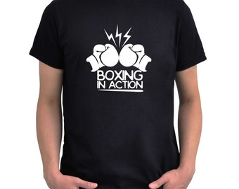 Boxing in action T-Shirt