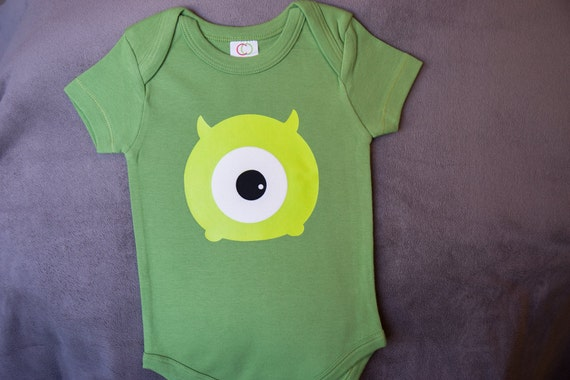 Organic baby monsters inc mike wazowski inspired unisex by adorabo