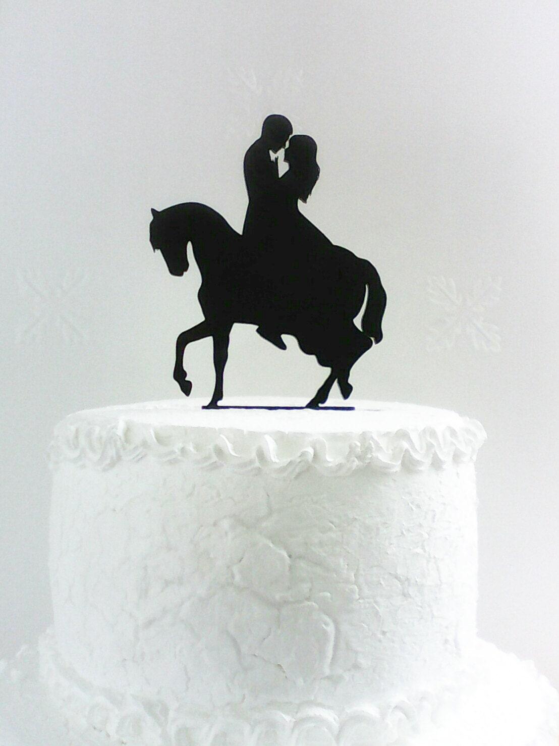 Silhouette Wedding Cake Topper Uk