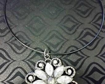 Xlarge Flower Choker Necklace