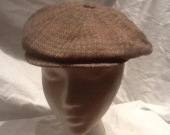 Wool Cap Newsboy Cap Scottish Wool