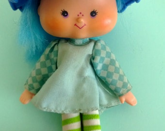 Vintage Strawberry Shortcake Blueberry Muffin Figure American Greetings 1979 Free Shipping