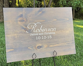 Rustic Wedding Guestbook, Personalized Wedding Guestbook, Wedding Decor,Guestbook Alternative, Wood Guestbook