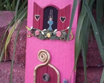 Fairy House Wall Mounting Art
