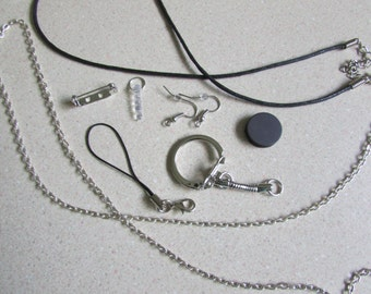 Accessory Upgrade- Necklace, Keychain, Cellphone Strap, Headphone Plug, Earrings, etc