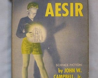 Science Fiction Book 'Cloak of Aesir', John W. Campbell, 1952 First Ed with DJ