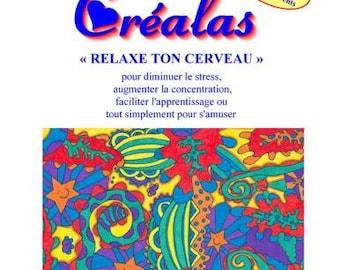 """Coloring books, """"Créalas"""""""